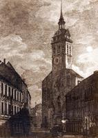 Peterskirche in München, 1870 Timeline Classics/Timeline Images