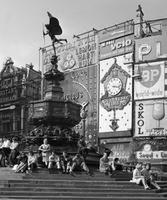 Piccadilly Circus in London, 1964 Juergen/Timeline Images