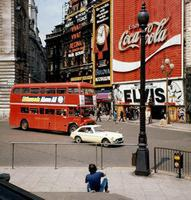 Piccadilly Circus in London, 1971 Juergen/Timeline Images