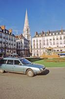 Place Royal in Nantes, 1983 Raigro/Timeline Images