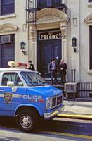Polizeistation in New York, 1992 Raigro/Timeline Images