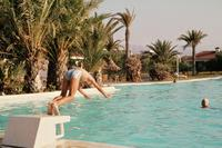Pool in Playa del Ingles, 1977 Czychowski/Timeline Images