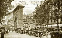 Porte Saint-Denis in Paris, 1890er Jahre despina/Timeline Images