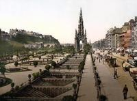 Princes Street in Edinburgh Timeline Classics/Timeline Images
