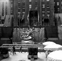 Prometheus am Rockefeller Center, 1962 Juergen/Timeline Images