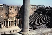 Römisches Theater in Bosra, 1984 Czychowski/Timeline Images
