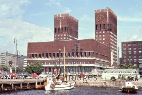 Rathaus in Oslo, 1963 Czychowski/Timeline Images