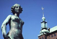 Rathaus in Stockholm, 1966 Czychowski/Timeline Images