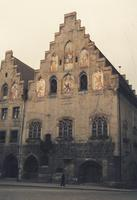 Rathaus in Wasserburg am Inn, um 1960 HRath/Timeline Images
