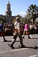 Reiter in Arequipa, 1981 Czychowski/Timeline Images
