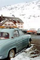 Renault Dauphine in Zürs am Arlberg, 1965 Dillo/Timeline Images