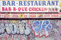 Restaurant in Brighton Beach, 1992 Raigro/Timeline Images