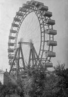 Riesenrad im Prater in Wien, 1915 Timeline Classics/Timeline Images
