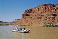 River rafting auf dem Colorado River, 1993 Raigro/Timeline Images