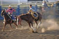 Rodeo bei Ruby's Inn im Bryce Canyon, 1993 Raigro/Timeline Images