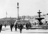 Rossio-Platz in Lissabon, 1931 Timeline Classics/Timeline Images