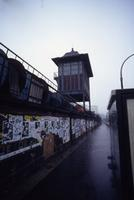 S-Bahn Station Warschauerstrasse in Berlin, 1990 Winter/Timeline Images