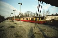 S-Bahnzug in Mariendorf, 1989 Winter/Timeline Images
