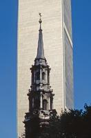 Saint Paul's Chapel und World Trade Center, 1992 Raigro/Timeline Images