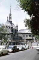 Sainte-Chapelle in Paris, 1959 HRath/Timeline Images