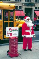 Santa Claus in New York, 1992 Raigro/Timeline Images