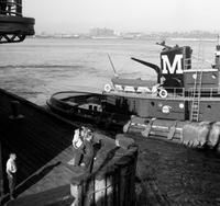 Schlepper auf dem Hudson River in New York, 1962 Juergen/Timeline Images