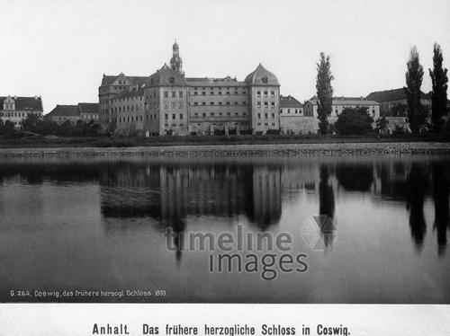 Schloss Coswig in Anhalt, 1893 Timeline Classics/Timeline Images