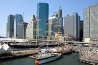 Seaport in New York, 1992 Raigro/Timeline Images