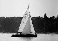 Segelboot auf der Havel in Berlin, 1968 Juergen/Timeline Images