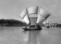 Segelboote in China, 1933 Timeline Classics/Timeline Images