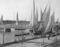 Segelboote in Kairo, 1907 Timeline Classics/Timeline Images