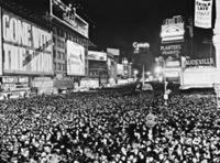 Silvesterfeier am Times Square, 1940 Timeline Classics/Timeline Images