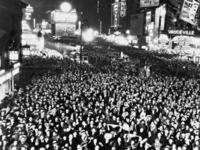 Silvesterfeier am Times Square in New York, 1933 Timeline Classics/Timeline Images