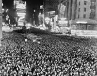 Silvesterfeier am Times Square in New York, 1938 Timeline Classics/Timeline Images