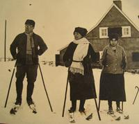 Skiläufer in Winterberg, 1924 Isabella/Timeline Images