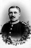 Soldat in Uniform, um 1900 Ochsenfurt/Timeline Images