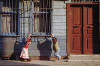Spielende Kinder in Istanbul, 1988 Raigro/Timeline Images