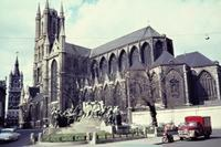 St.-Bavo-Kathedrale in Gent, 1963 Czychowski/Timeline Images