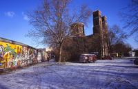 St. Thomaskirche in Berlin, 1989 Winter/Timeline Images