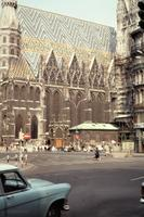 Stephansdom in Wien, 1964 Czychowski/Timeline Images