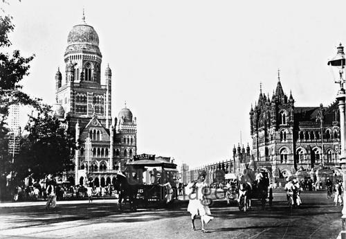 Straßenszene in Bombay – Fotocommunity Timeline Images