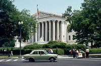 Supreme Court in Washington, D. C., 1973 Juergen/Timeline Images