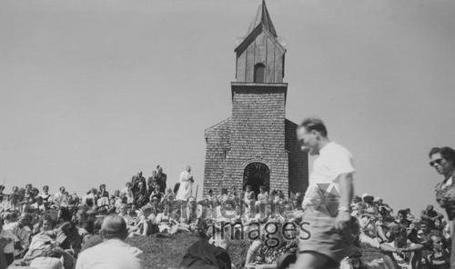 Tabor-Kapelle am Hochfelln, um 1954 HRath/Timeline Images