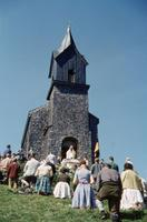 Tabor-Kapelle am Hochfelln, um 1960 HRath/Timeline Images