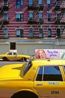 Taxi in New York, 1992 Raigro/Timeline Images