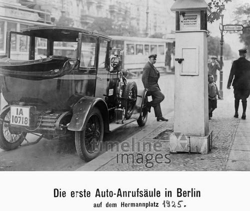 Taxis in Berlin, 1925 Timeline Classics/Timeline Images
