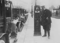 Taxis in Hamburg, 1912 Timeline Classics/Timeline Images