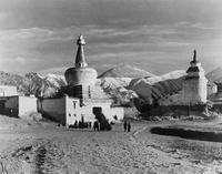 Tempel in Tibet, 1938 Timeline Classics/Timeline Images