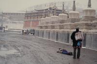 Tempelkloster Ta'er in Xining, 1987 Czychowski/Timeline Images