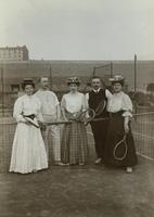 Tennisspiel, 1910 1Frido2/Timeline Images